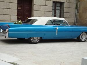 Galician wedding transport