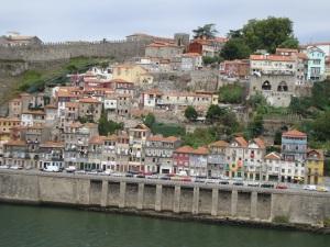North bank of the Rio Douro, Porto
