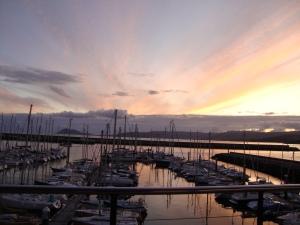Sunset at Portosin