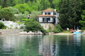 Michael Carroll's house in Panormos.  Apparently he still lives there, though not all year round.